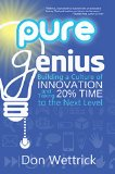 "Picture of the book ""Pure Genius"" bookcover"